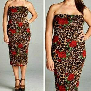 Last 1! Size 2x Midi Dress
